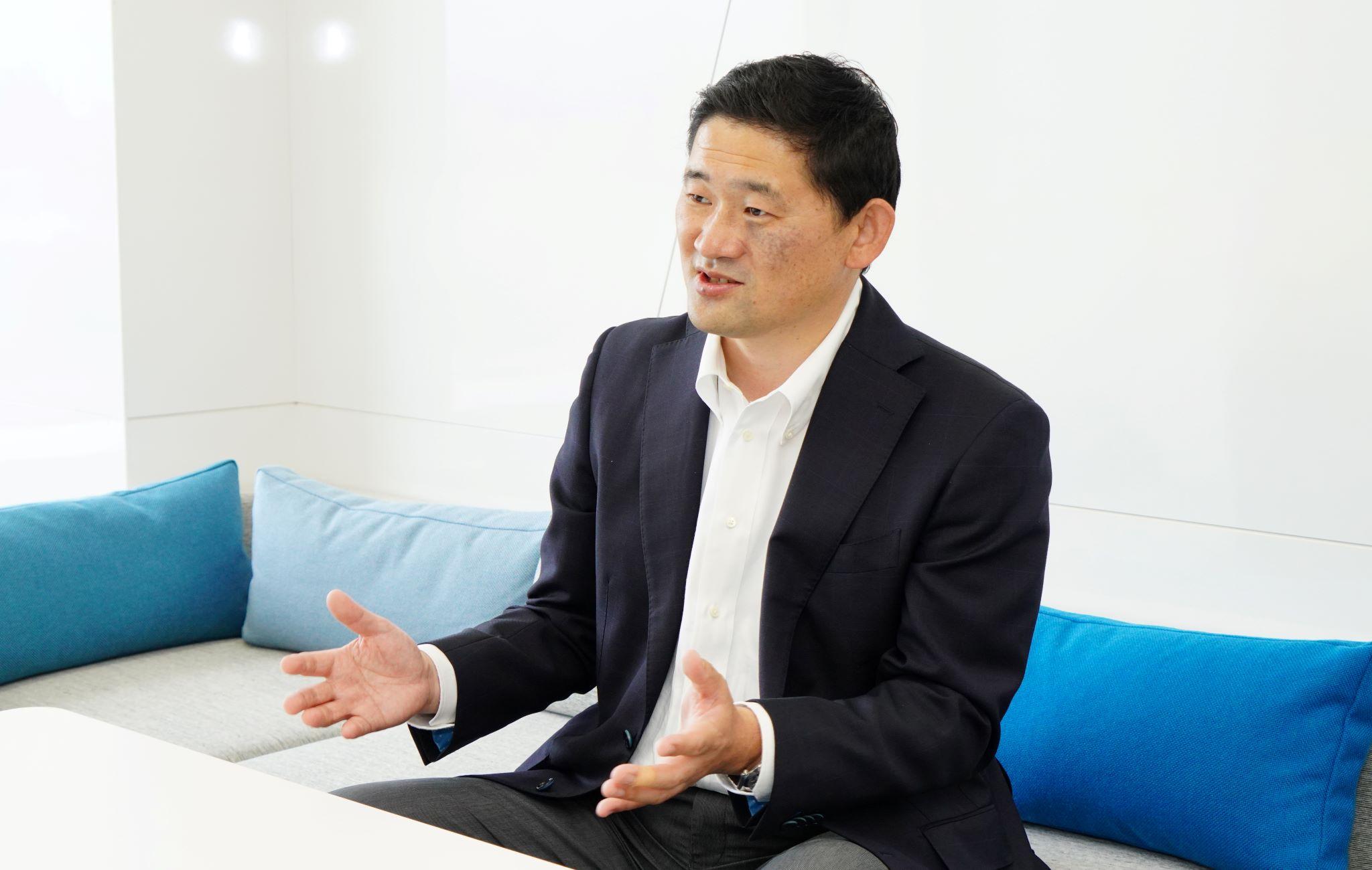 代表取締役社長兼CEO 五十嵐 幹のプロフィール画像